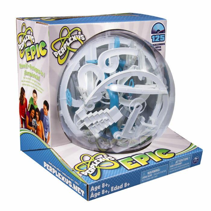 【全品ポイント増量中!】 パープレクサス エピック 【トリック数125個 ボール型立体パズル 球体型パズル 3D立体迷路 PERPLEXUS EPIC Spin Master OHSサプライ合同会社 正規輸入品】 【RCP】