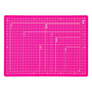 【全品ポイント増量!】 ナカバヤシ 折りたたみカッティングマット A4サイズ CTMO-A4-P ピンク 【カッターマット カッティングシート カッティングボード Nakabayashi】