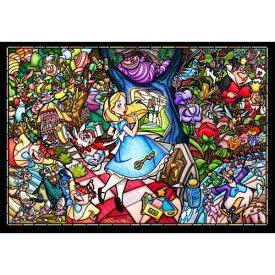 【送料無料!】 クリスタルジグソーパズル 500ピース ふしぎの国のアリス ステンドグラス ステンドアート DSG-500-473【Disneyzone】