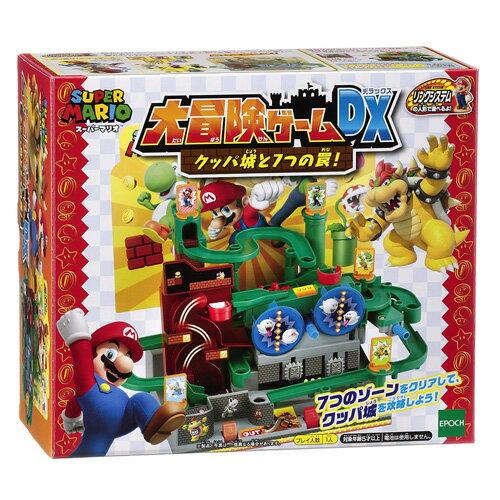 【送料無料!】 スーパーマリオ 大冒険ゲームDX クッパ城と7つの罠!
