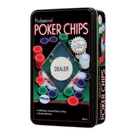 【全品ポイント増量!】 カードマーク ポーカーチップセット (5色 100枚入り)