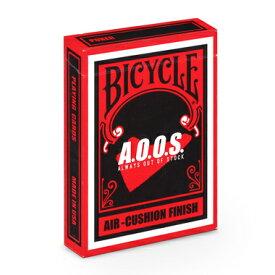 【全品ポイント増量!】 トランプカード バイスクル BICYCLE ALWAYS OUT OF STOCK A.O.O.S