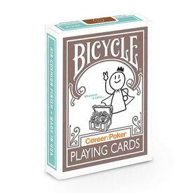 【全品ポイント増量!】 トランプカード バイスクル キャリア ポーカー BICYCLE C@reer:Poker