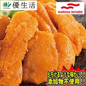 マルハニチロ ミョウバン 不使用 冷凍 うに 500g セット ( 生食用 )