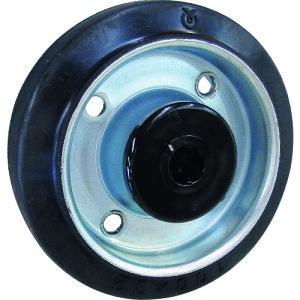 交換車輪 トラスコ プレート式キャスター用交換車輪 TYSシリーズ TYSW-150