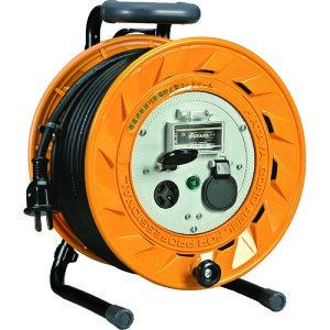 コードリール ハタヤ 電工ドラム BL型 三相200V型コードリール 30M BL-332M アース付 ブレーカ付 3.5SQ電線仕様