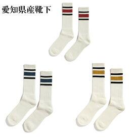 【愛知県産】decka quality socks デカ クォリティソックス 80's Skater socks レディース 婦人 スケーター ローゲージ靴下 80年代靴下 愛知