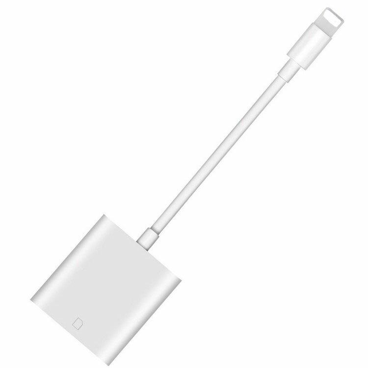 iphone sdカードリーダー USBメモリ バックアップ iOS iPhone7 iphone8 iphoneX iPhone iPadカードカメラリーダー 高速データ転送 ios専用 アイフォン アイフォーン 写真 転送