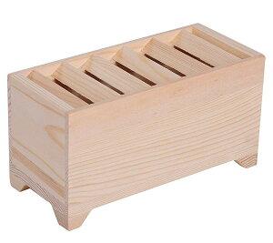 賽銭箱 貯金箱 木製 (原木色(無地))