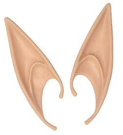 エルフ耳 とんがり 付け耳 (肌色, L/ #1 エルフ耳)