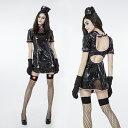 ハロウィン コスプレ ナース 看護婦 ナース服 ブラック ps2482s