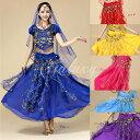 ベリーダンス衣装 インドダンス 6色 セット チョリ 半袖 組み合わせ自由 コスチューム hy0036a