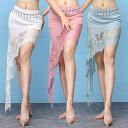 ベリーダンス インドダンス モダンダンス 社交ダンス 3色 レース スカート 舞台 演出 ダンス衣装 vffzw026