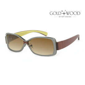 GOLD&WOOD ゴールドアンドウッド サングラス メンズ レディース UVカット 上品オシャレ 大人可愛い GW H08.2 [並行輸入品]