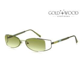GOLD&WOOD ゴールドアンドウッド サングラス メンズ レディース UVカット 上品オシャレ 大人可愛い GW C07S.17 [並行輸入品]