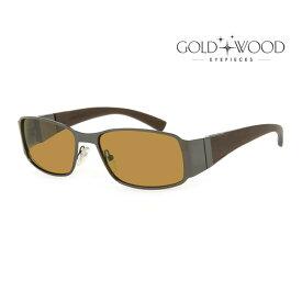 GOLD&WOOD ゴールドアンドウッド サングラス メンズ レディース UVカット 上品オシャレ 大人可愛い GW H21P.2 [並行輸入品]