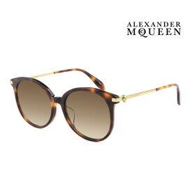 Alexander McQueen アレキサンダー・マックイーン サングラス メンズ レディース UVカット 上品オシャレ 大人可愛い AM0135SA 002 [並行輸入品]