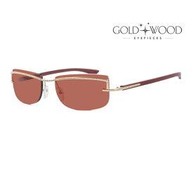 GOLD&WOOD ゴールドアンドウッド サングラス メンズ レディース UVカット 上品オシャレ 大人可愛い GW H02S.3 [並行輸入品]