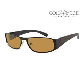 GOLD&WOOD ゴールドアンドウッド サングラス メンズ レディース UVカット 上品オシャレ 大人可愛い GW H20P.8 [並行輸入品]