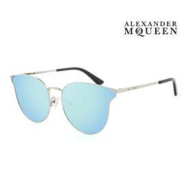 Alexander McQueen アレキサンダー・マックイーン サングラス メンズ レディース UVカット 上品オシャレ 大人可愛い MQ0105SK 002 [並行輸入品]