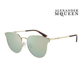 Alexander McQueen アレキサンダー・マックイーン サングラス メンズ レディース UVカット 上品オシャレ 大人可愛い MQ0105SK 003 [並行輸入品]