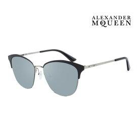 Alexander McQueen アレキサンダー・マックイーン サングラス メンズ レディース UVカット 上品オシャレ 大人可愛い MQ0106SK 002 [並行輸入品]