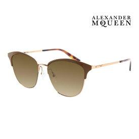 Alexander McQueen アレキサンダー・マックイーン サングラス メンズ レディース UVカット 上品オシャレ 大人可愛い MQ0106SK 003 [並行輸入品]