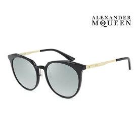 Alexander McQueen アレキサンダー・マックイーン サングラス メンズ レディース UVカット 上品オシャレ 大人可愛い MQ0108SK 001 [並行輸入品]