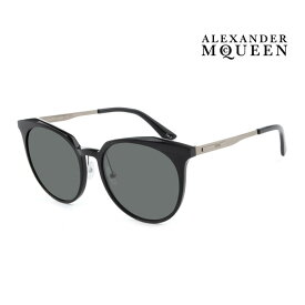 Alexander McQueen アレキサンダー・マックイーン サングラス メンズ レディース UVカット 上品オシャレ 大人可愛い MQ0108SK 002 [並行輸入品]