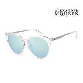 Alexander McQueen アレキサンダー・マックイーン サングラス メンズ レディース UVカット 上品オシャレ 大人可愛い MQ0108SK 005 [並行輸入品]