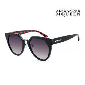 Alexander McQueen アレキサンダー・マックイーン サングラス メンズ レディース UVカット 上品オシャレ 大人可愛い MQ0149SA 002 [並行輸入品]