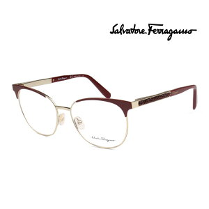 フェラガモ SALVATORE FERRAGAMO メガネフレーム メンズ レディース 上品 オシャレ 大人可愛い 伊達眼鏡 SF2166R 717 [並行輸入品]