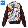 아디다스쟈지 adidas Originals (아디다스오리지나르스) 슈퍼 트럭 톱 저지 재킷 트럭 재킷 RITA ORA (리타・오라) SUPER TRACK TOP (MULTI COLOR 멀티 칼라) S23570