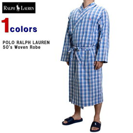 ラルフローレン ローブ POLO RALPH LAUREN (ポロ ラルフローレン) メンズ バスローブ コットン バスローブ ガウン ナイトウェア ルームウェア 大きいサイズ ビッグサイズ アメリカンサイズ P503SR 【あす楽対応】