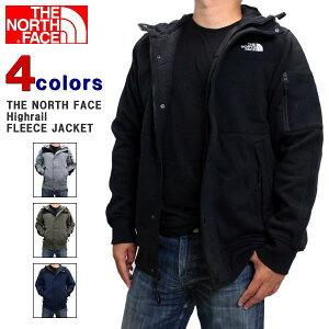 【クーポン利用で2000円OFF】 ノースフェイス ジャケット THE NORTH FACE (ザ ノースフェイス) メンズ フリースジャケット ハイレール フリース スタンダード フィット ジャケット HIGH RAIL FLEECE JACKE