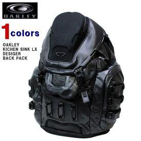 オークリー バックパック OAKLEY (オークリー) メンズ バックパック リュックサック サーフ バッグ デイバッグ KICHEN SINK LX DESIGER BACK PACK (STEALTH BLACK) 921018-013 【あす楽対応】