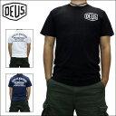 デウス Tシャツ DEUS EX MACHINA (デウス エクス マキナ) メンズ 半袖Tシャツ ベニス シールドロゴ Tシャツ プリント Tシャツ 全3色 ...