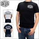 デウス Tシャツ DEUS EX MACHINA (デウス エクス マキナ) メンズ 半袖Tシャツ ベニス シールドロゴ Tシャツ プリント …