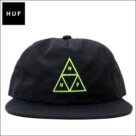 ハフ キャップ HUF (ハフ) ユニセックス 刺繍キャップ トリプルトライアングル ロゴ 刺繍 キャップ 帽子 (BLACK) HT00116 【メンズ】【レディース】【あす楽対応】