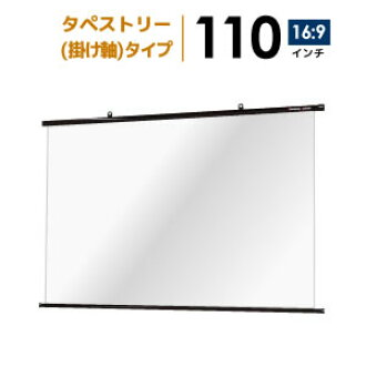 Projector screen tapestry ( hanging ) screens 110 inch ( 16:09) perfect for home theater! Cologne btp2440whd