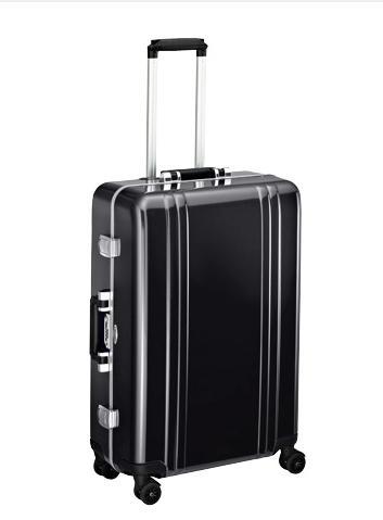 ZERO HALLIBURTON ゼロハリバートンZRP-F 31L(1~2泊)4輪 スーツケースキャリーケース キャリーバッグ 出張 トラベル ビジネス ブラック 送料無料
