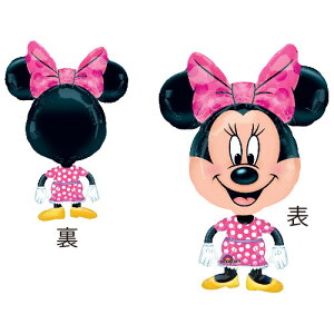AGバルーンバディ ミニー 風船 誕生日 バースデー ミニーマウス ディズニー キャラクター パーティー 装飾 飾り お子様のお誕生日飾りに