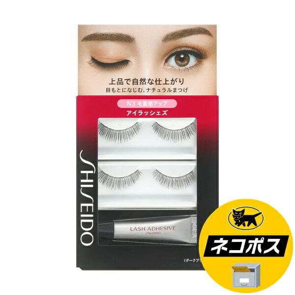 【ネコポス専用】資生堂 アイラッシェズ N3 まつ毛2セット、接着剤 3.3g