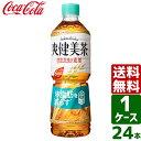 【スタンプラリー対象商品】爽健美茶 健康素材の麦茶 600ml PET 1ケース×24本入 送料無料