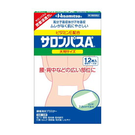 (第3類医薬品)久光製薬 サロンパスAe 大判 12枚入