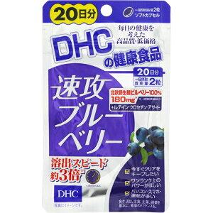DHC 速攻ブルーベリーエキス 20日分