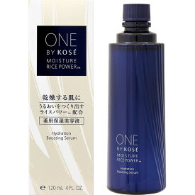 コーセー ONE BY KOSE ワンバイコーセー 薬用保湿美容液 レフィル 付け替え用 ラージサイズ 120ml