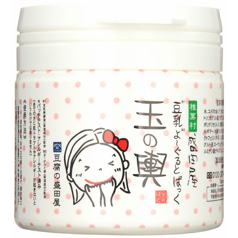 豆腐の盛田屋 豆乳よーぐるとぱっく 玉の輿 150g フェイスパック