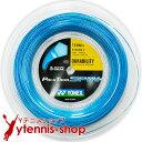 ヨネックス(YONEX) ポリツアースピン(Poly Tour Spin) 1.25mm 200mロール ポリエステルストリングス ブルー【あす楽】
