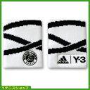 フレンチオープンテニス ローランギャロス アディダス(adidas)Y-3 リストバンド オフィシャル商品 全仏オープンテニス ホワイト/ブラック【あす楽】
